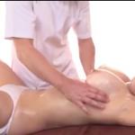【エロ動画】スペンス乳腺体験にきた爆乳美女が、激しいパイ揉みでヨダレたらして乳首イキ 高橋まつり