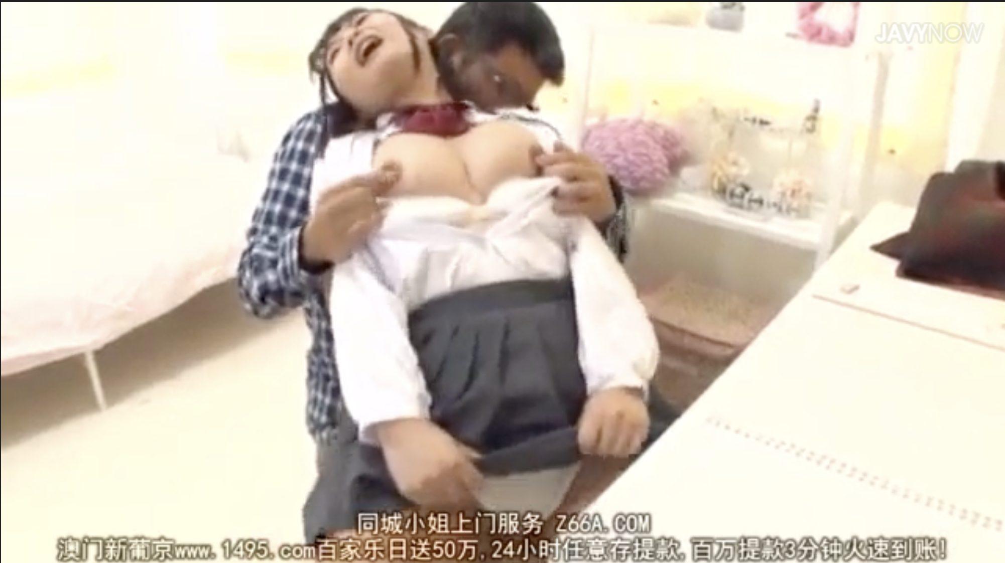 【エロ動画】巨乳女子高生が家庭教師に媚薬を盛られ、乳首をこねられ乳首イキ!「あっああっん!」